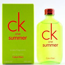 (GRUNDPREIS 69,90€/100ML) CALVIN KLEIN CK ONE SUMMER 2012 - 100ML EDT SPRAY