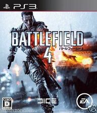 Used PS3 Battlefield 4 SONY PLAYSTATION 3 JAPAN JAPANESE IMPORT