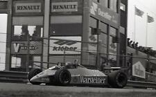 photo 20 par 30 cm mike thackwell  Grand Prix hollande F1 1980