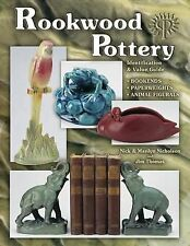 Rookwood Pottery Bookends Paperweights Animal Figurals by Nick Nicholson Book HC