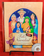 Feliz Navidad Learning Songs & Traditions In Spanish With CD by Anna M. Mahoney