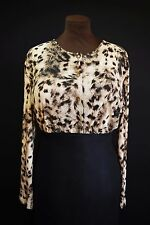Womens - Sexy Blouse Top - Animal Print - Plus Size - Curvy Glam Chic Diva 18 20