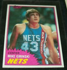 "1981/82 TOPPS MIKE GMINSKI R/C BASKETBALL CARD ""NR-MINT"" #78 EAST ""VINTAGE"""