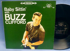 LP BUZZ CLIFFORD - BABY SITTIN' WITH // ROCK'N' ROLL ROCKABILLY USA RE