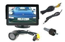 """Instalación cámara de visión trasera c250d con LED Infrarrojos 's y 4.3"""" monitor past en BMW"""