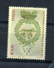 Italia 2003 4° centenario della fondazione dell'Accademia dei Lincei MNH