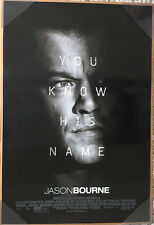JASON BOURNE MOVIE POSTER 2 Sided ORIGINAL FINAL 27x40 MATT DAMON