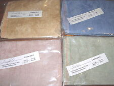 COMPLETE SET CASHEL LINEN FOR ROSEWOOD MANOR QUAKERS SEASONS CROSS STITCH PREOR