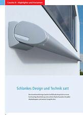 Kassettenmarkise Weinor Cassita II LED - 2,5m x 1,5m inkl. Funksteuerung