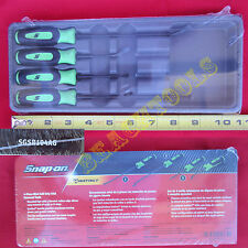 New Snap On Green 4 Piece Mini Soft Grip Seal Removal Set - SGSR104AG