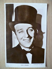 Vintage Film Star Real Photo Postcard- BING CROSBY, Paramount Pictures