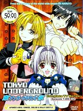 DVD Anime Tokyo Underground complete TV Series 1-26 End English Subtitle Box Set