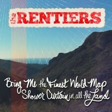 Bring Me The Finest World Map Shower Curtain In Al - Rentiers (2017, CD NEUF)