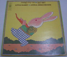 30 Animal Songs For Tots Children's Israel folk Hebrew LP Ruhama Raz Shula Chen