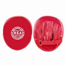 Boxing Training Glove Mitt Target Focus Punching Pad Karate Muay Kick Red AD