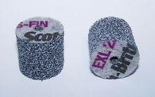 """(2) 3M SCOTCH BRITE EXL UNITIZED WHEELS 2S FIN - 1"""" x 1"""" x 3/16"""" 048011-13713"""