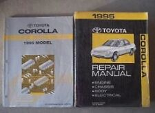 1995 TOYOTA COROLLA Service Repair Shop Manual FACTORY Set W Wiring Diagram