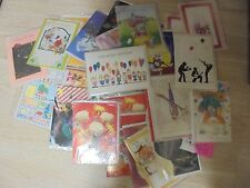 (43) Assorted All Occasions  Musical Melody Greeting Cards  (G)