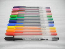 Sakura Ballsign Gelly Roll Pen gel ink-Fine Point-12 colors w/plastic case(Japan