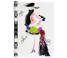 Christian Lacroix CROQUIS FASHION SKETCH Layflat Notebook, 6 x 4.12 Inch #19345