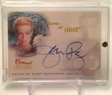 Jeri Ryan Star Trek Women Of Voyager Autograph Auto Card SA1 Seven of Nine