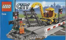 Lego ferrocarril Train 7936 receta ba plano de edificio instrucciones instructions