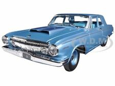 1963 DODGE 330 BLUE 1/18 DIECAST MODEL CAR BY MAISTO 31652
