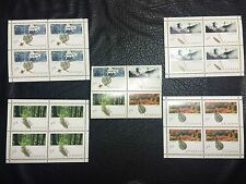 COMPLETE RARE MAJESTIC FORESTS OF CANADA STAMPS 1990 PETRO CANADA,Mint/Canceled