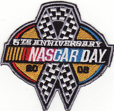 NASCAR Day 2008 5th Anniversary Patch *New*