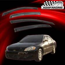 06-13 Smoke Window Visor Rain Guard Vent Shade Slim style 4Pcs For Chevy Impala