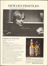 1971 ad for WHITE HORSE SCOTCH WHISKEY w/ Terrance McNally Playwright (091116)