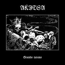 Akitsa - Grands Tyrans CD 2015 digi black metal Canada Hospital Productions