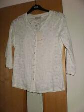 M & S Per Una Blouse with cotton & Vest Size 18 BNWT rrp £29.50