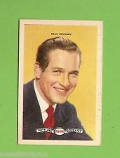 #D160. 1958-64  ATLANTIC PETROLEUM FILM STARS CARD #20  PAUL NEWMAN