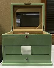 Hives & Honey Grace Jewelry Box, In Enamel Green Or White Available - BRAND NEW!