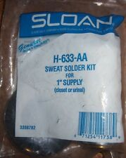 "NEW Lot Of 23 Sloan H-633-AA Sweat Solder Kit 1"" supply Closet Urinal Plumbing"