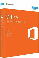 Microsoft Office Home and Student 2016 Windows English PC Key Card - 79G-04589