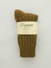 Donegal Mustard 100% Wool Walking socks 4 - 7  - New - Made In Ireland