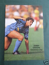 TERRY GIBSON - COVENTRY CITY  PLAYER - 1 PAGE PICTURE - CLIPPING /CUTTING -#1