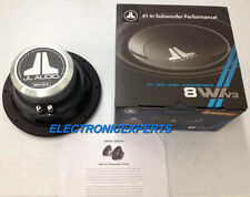 "JL AUDIO 8W1V3-4  8"" SUBWOOFER NEW 8W1 W1V3 200MM BRAND NEW SHALLOW MOUNT 3.86"""