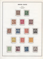 US 1922 Collection, 551 - 573, complete set, CV $250.00