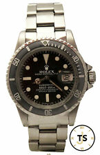 Vintage Rolex Submariner Automatic SS Black 40mm Circa 1978 1680 Original Watch