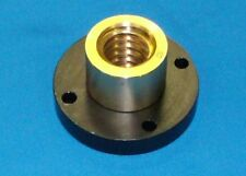 """304070 932 bronze nut with steel flange for 1""""-5 acme RH precision lead screw"""