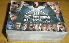 X-MEN THE LAST STAND - COMPLETE 72 CARD MOVIE BASE SET - UPPER DECK 2006