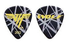 Van Halen Wolfgang Van Halen Black/Silver Frankenstrat Guitar Pick - 2012 Tour