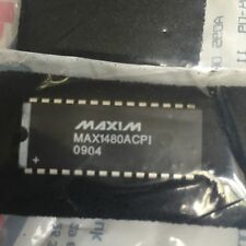 2 x MAXIM INTEGRATED PRODUCTS  MAX1480ACPI+  IC, TRANSCEIVER RS485/422 ISOL