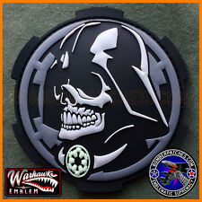 Darth Vader Inspired PVC Patch, Glow In The Dark Imperial Cog, NOT Star Wars