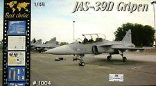 """Avion de chasse Suedois JAS 39D """"GRIPEN"""" - KIT MPM 1/48 n° BC1004"""
