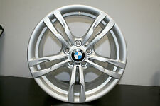 "1 x Genuine Original BMW F30 3er 18"" 441 Alloy Wheel - Front fitment 8J"