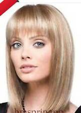 NEWJF903 charming medium blonde mixed straight  fashion hair WIG wigs for women